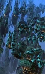 Underwater fortress