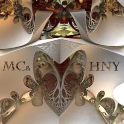 MerryC and HappyNY Rhinoceros Heart