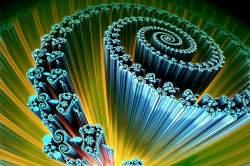 Perpendicular double spiral