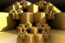 Sierp MaxClip Cubes artefacts
