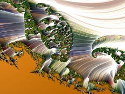 Swirly Ferns of Glass