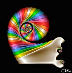 Polychromatic Spiral