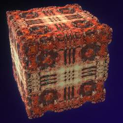 Mandelbox with smooth conditions