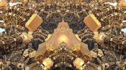 Kali's Mandelbox Surface - Alteration 1