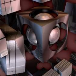 Metallic Shapes VI