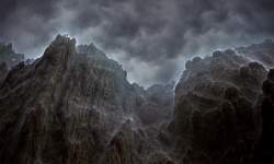 Storm on the Rocks