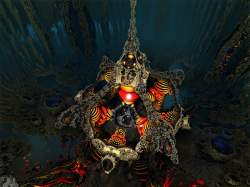 Underwater amazing object
