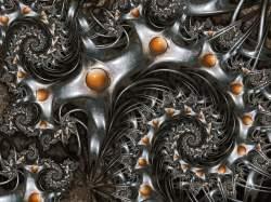 Metallic denim