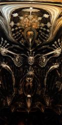 Mayan Sacrifice Ritual Mask